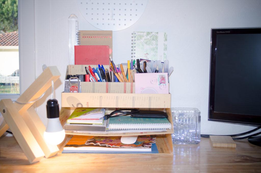 DIY : Fabriquez votre organiseur de bureau