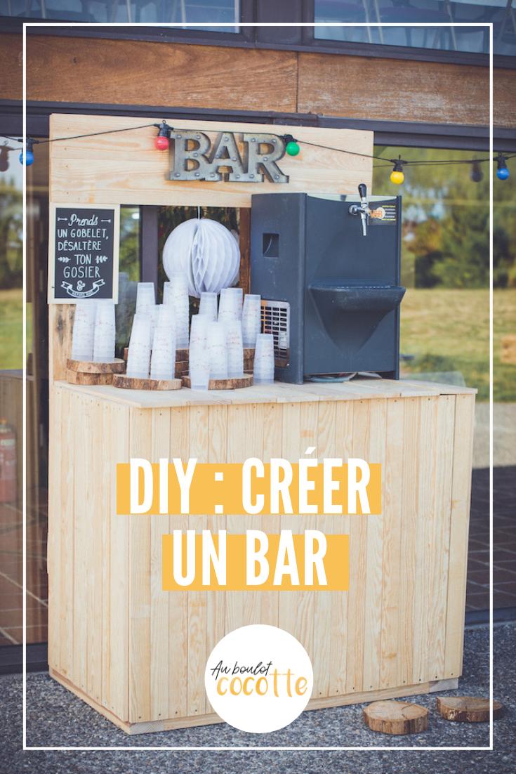 DIY : Fabriquer un bar en bois