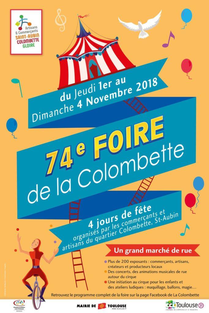 La Foire de la Colombette est une institution à Toulouse où se mêlent marché, arteliers, créativité.