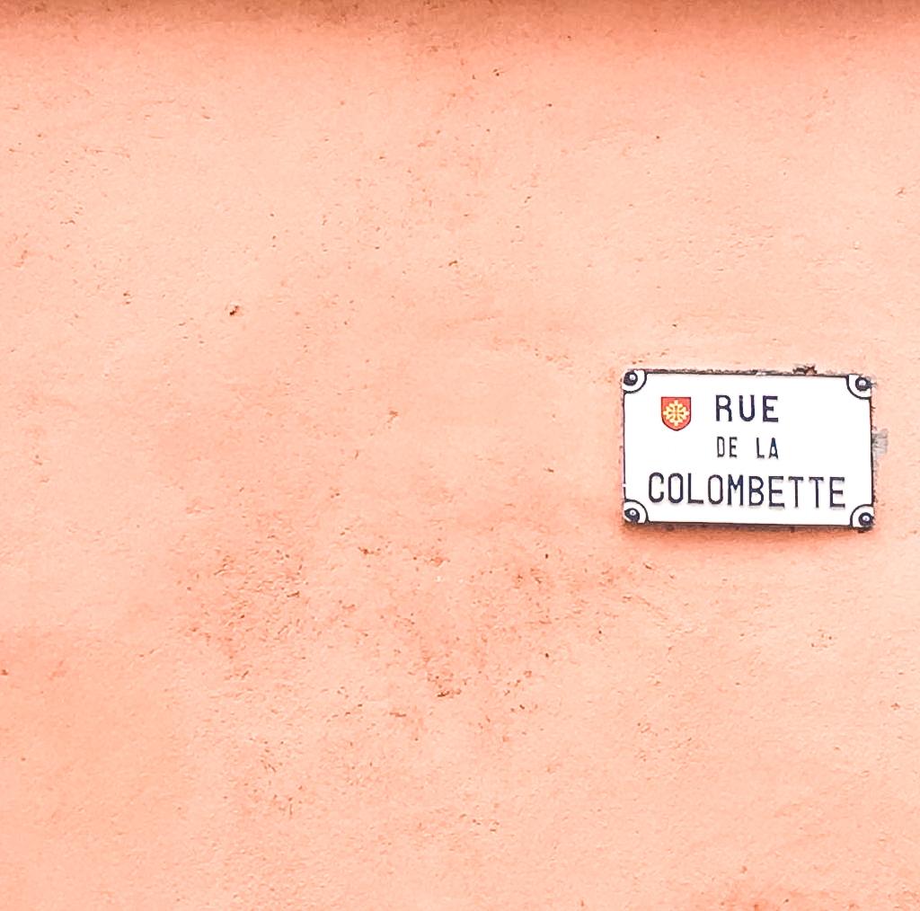 Rue de la Colombette, rue phare des artistes de la ville