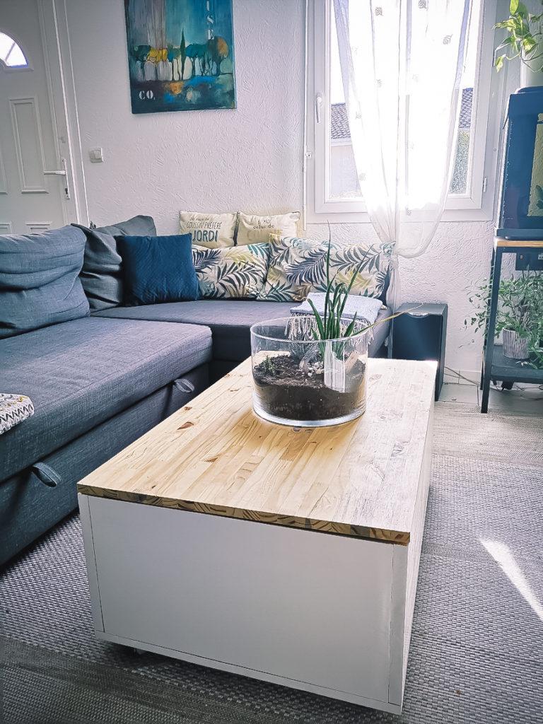 DIY : Créer sa table basse et le mécanisme relevable