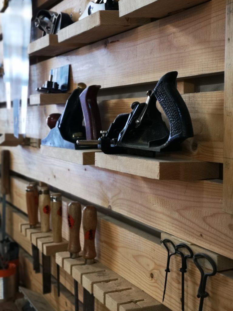 Les outils pour travailler le bois de l'Atelier des Bricoleurs