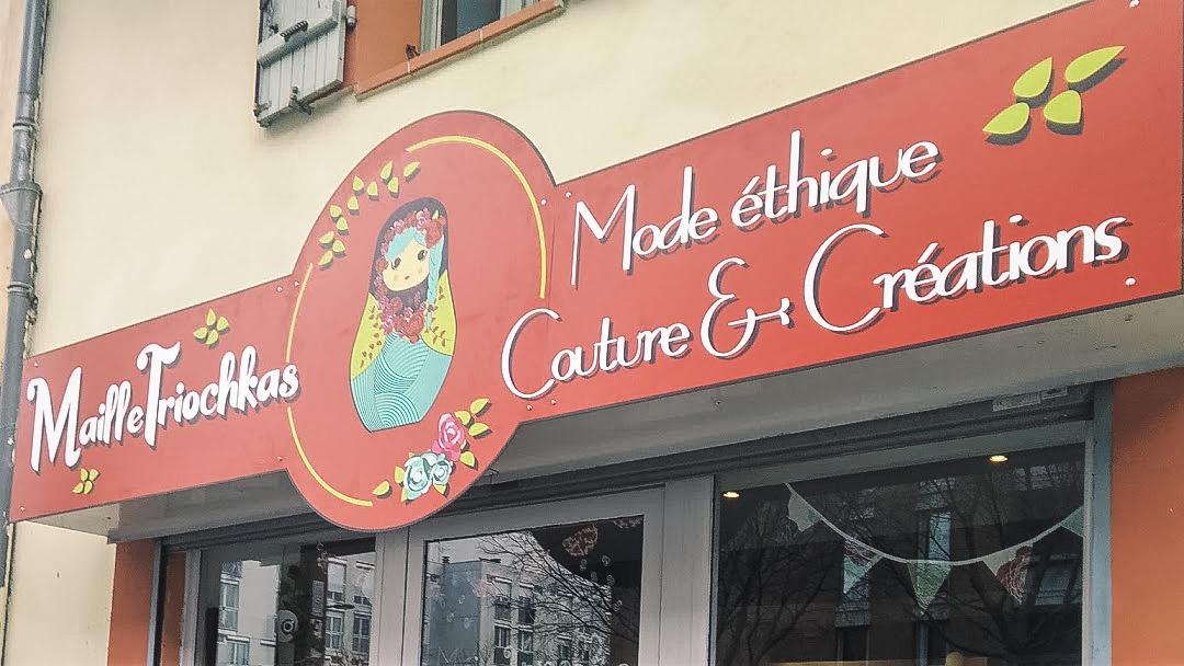 Les Mailletriochkas - Boutique de créateurs et atelier couture pour mode éthique dans le quartier Patte d'Oie #toulousecreative