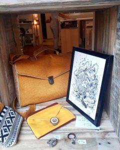 Les Mailletriochkas, espace couture à Toulouse, est aussi une boutique de créateurs
