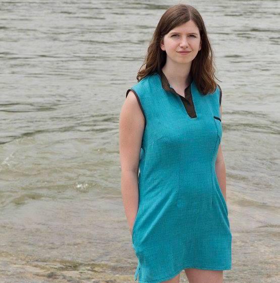 Gabrielle, co-fondatrice de la marque de noeuds ethiques les Noeuds-Noeuds