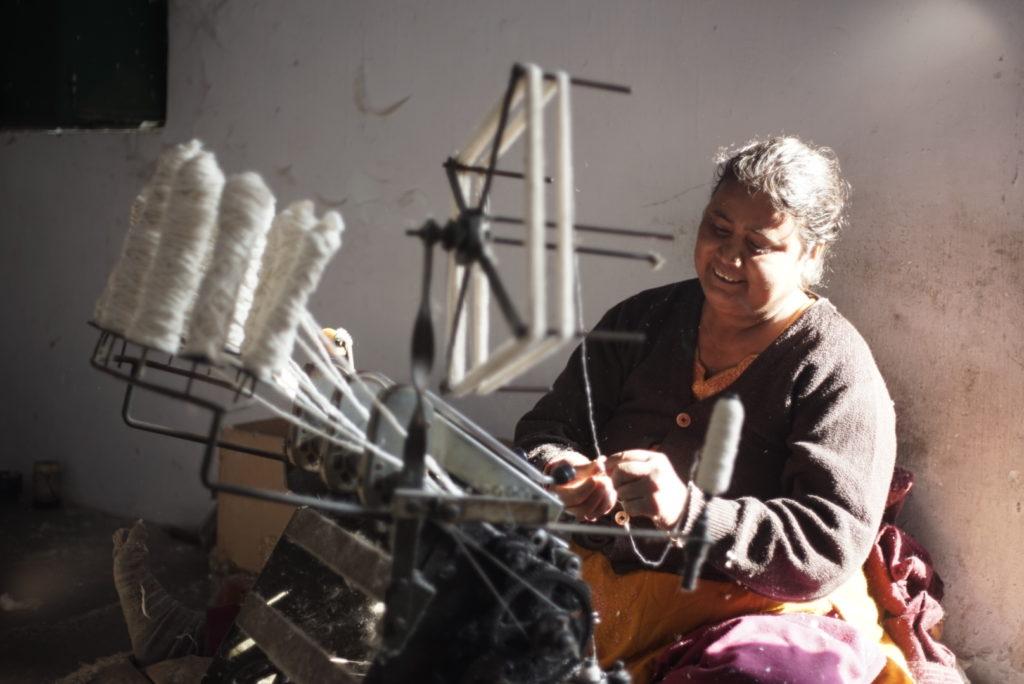 Le tissage est un artisanat ancestral