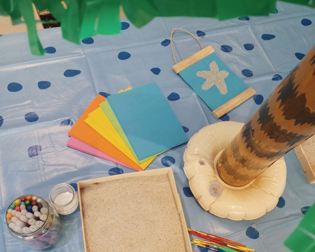 Animation d'un atelier DIY pour enfant à la Kids Beach Party organisé par Mother in town au Mama shelter de Toulouse