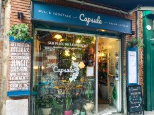 La vitrine de Capsule végétale