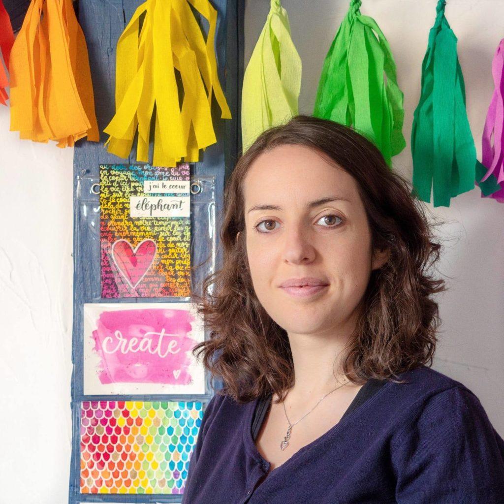 Adeline de Aliegraphie : le letterring est sa spécialité