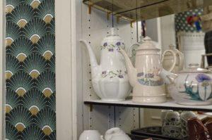 L'une des idées chez Art Tea Shop c'est que toute la décoration et le mobilier sont à vendre. #toulousecreative
