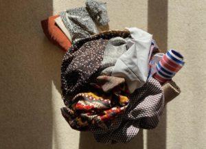 Quand on coud, l'organisation des tissus et du matériel en général est assez compliqué