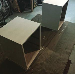 Prendre le temps de personnalisé ses vieux meubles pour en créer de nouveaux