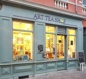 Art Tea Shop, le nouveau salon de thé en plein coeur de Toulouse pour les curieux de l'Art. #toulousecreative