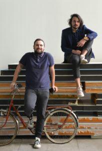 Antoine et Clément, respectivement le fondateur du Rambot du cactus et animateur d'ateliers