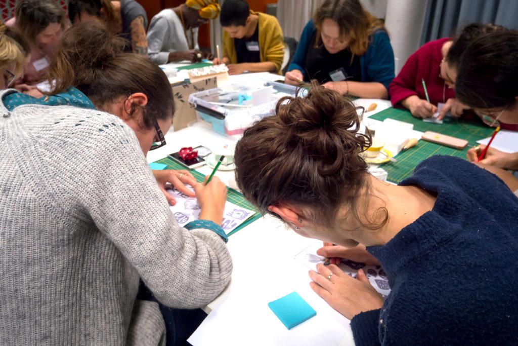 Des ateliers pour apprendre à faire, en présentiel ou en live. #toulousecreative