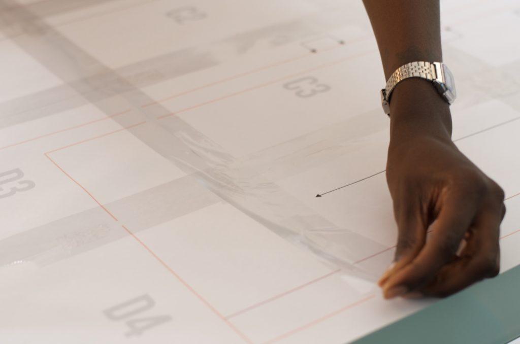Au boulot cocotte a opté pour la version pdf du patron couture de la robe Raisin.