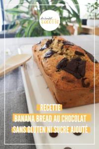 Recette : Mon banana bread sans gluten et sans sucre