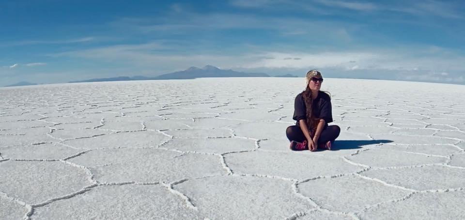 """Margot, fondatrice de la marque """"En couture Simone"""", en voyage en Amérique du Sud à la découverte de nouvelles techniques."""