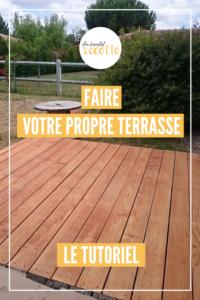 DIY : Fabriquer sa propre terrasse en bois à moindre coût