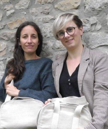 Cinthia Born et Elodie Madebos, les deux fondatrices du Mouton Givré (crédit Mouton Givré)