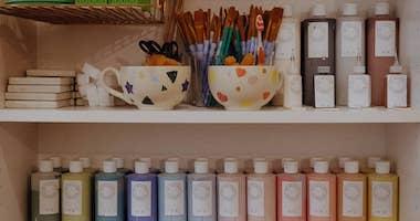 Les Rêveries d'Hercule est le salon de thé céramique et de loisirs créatifs qui a ouvert en octobre 2019 à Toulouse, quartier François Verdier.