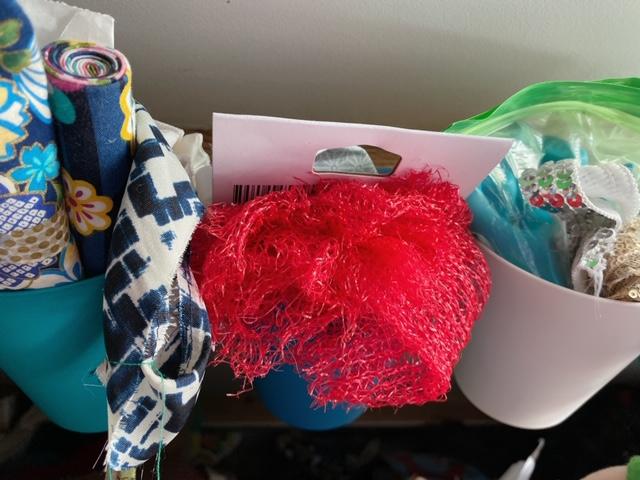 Un petit aperçu des tissus d'Ana @anamathe31 pour ses créations DIY
