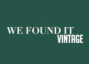 We found it vintage, une entreprise toulousaine autour d'accessoires et vêtements vintage
