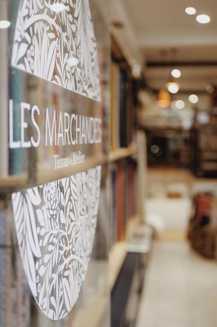 Bioenvenue chez Les Marchandes, une boutique de tissus située en plein coeur du centre ville de Toulouse