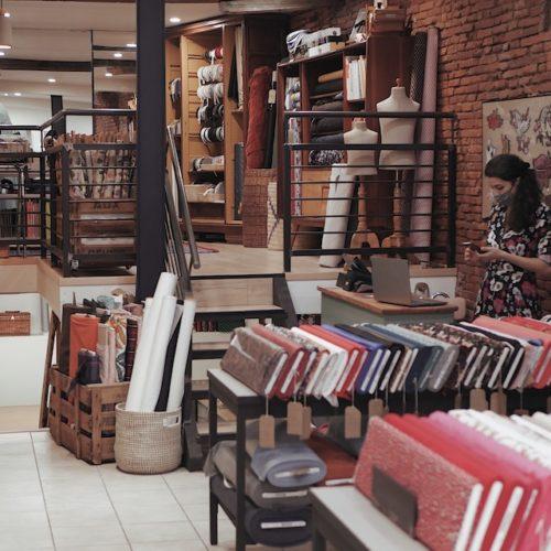 Bienvenue chez… Les Marchandes, boutique de tissus à Toulouse