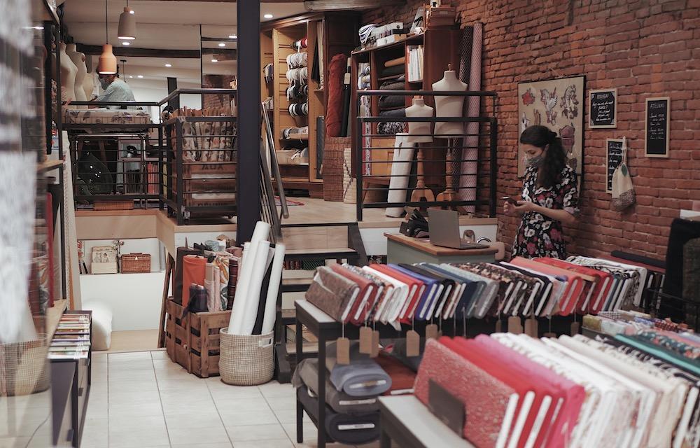 Les Marchandes, boutique de tissus en plein coeur de Toulouse. #toulousecreative