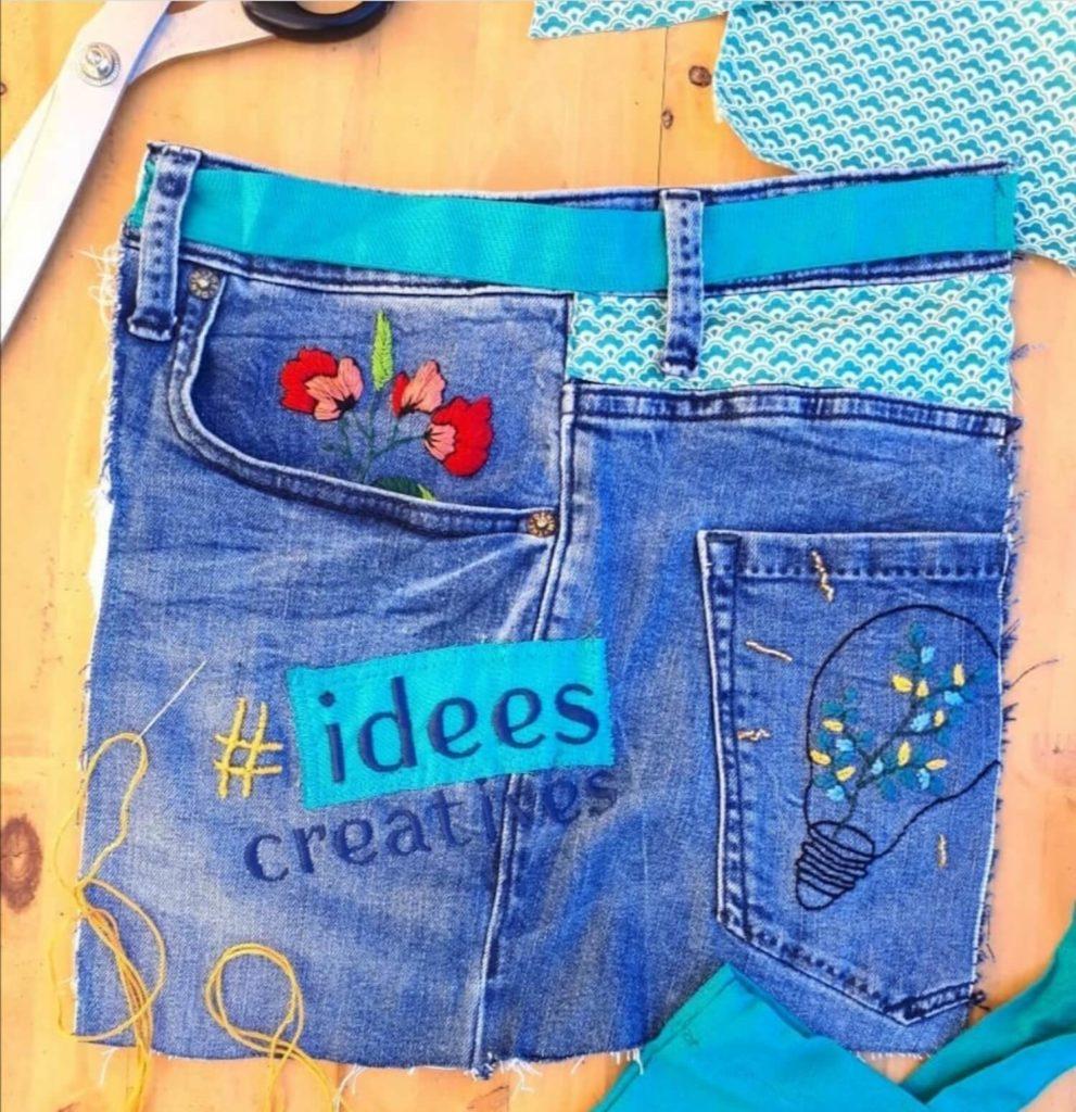 Le jeans est une matière idéale pour les créations de Cotoune