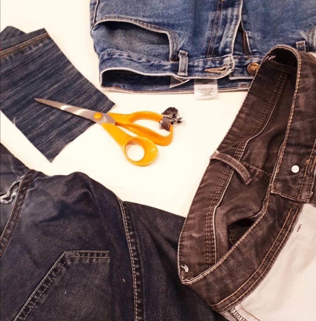 Cotoune, marque responsable toulousaine réutilise les vieux jeans pour une nouvelle vie