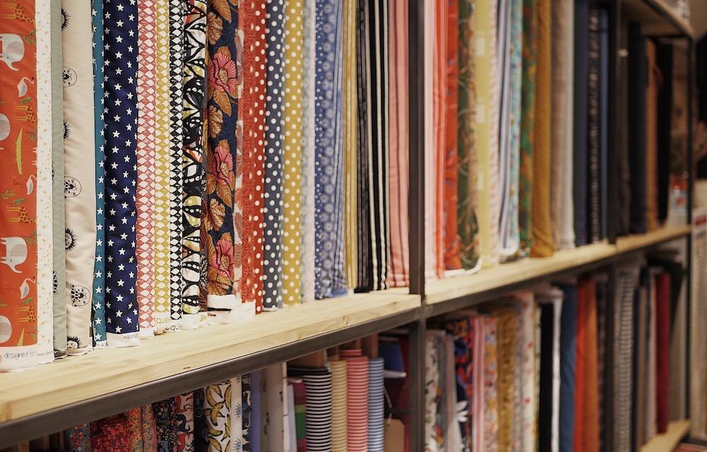 Chez Les Marchandes, le choix de tissus et des matières est fait avec précaution. #toulousecreative