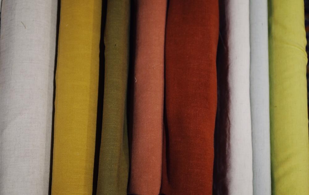 Les tissus de la boutique Les Marchandes à Toulouse