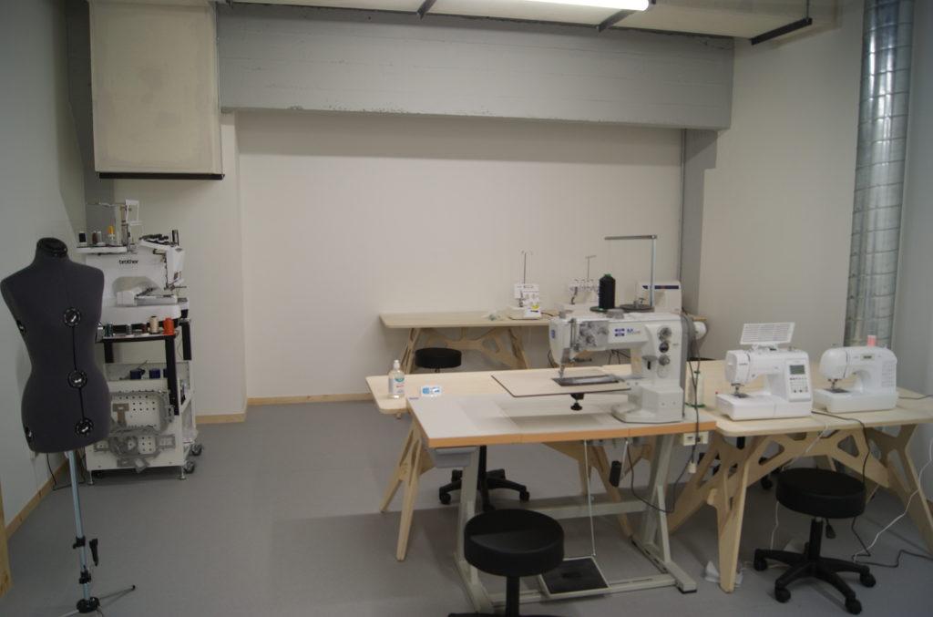 Le textileLab du Roselab, fablab de La Cité à Toulouse