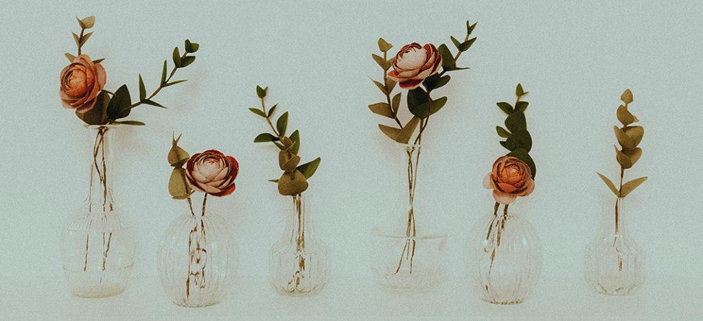 Des fleurs bluffantes de réalité, réalisées à Toulouse par Diane, d'Horticulture papier