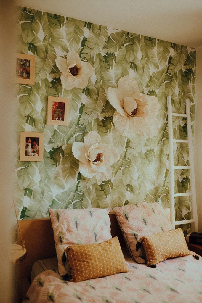 Les fleurs géantes fabriquées par Diane d'Horticulture Papier.#Toulousecreative