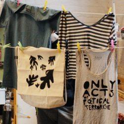 Bitono, atelier de sérigraphie à Toulouse a participé à la première après-midi créatives de Au boulot cocotte